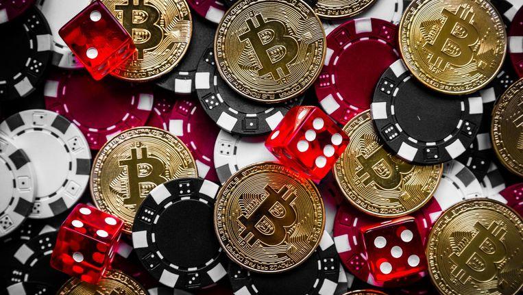 De digitale munt bitcoin wordt gedolven door computers cryptografische puzzels te laten oplossen. Dat vreet energie. Beeld anp