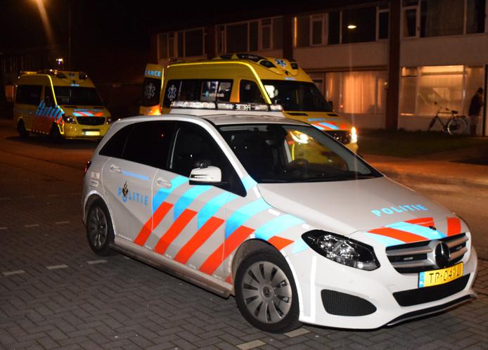 Het jongetje viel uit een raam aan de achterzijde van een woning in Doetinchem.