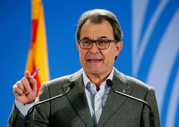 Regio-president Artur Mas. Beeld reuters