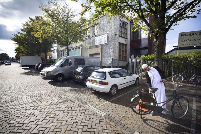Exterieur van de As-Soennah moskee in Den Haag. Beeld anp