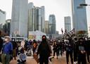 Afgelopen weekend was er weer een anti-regeringsdemonstratie in Hong Kong