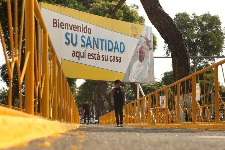 De paus trekt ook naar Lima, hoofdstad van Peru.