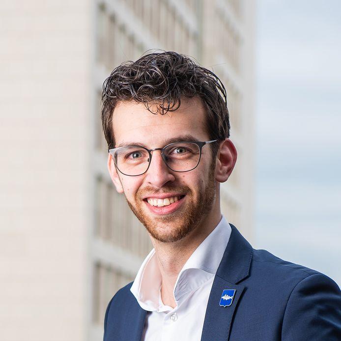 Nathanaël Middelkoop is op dit moment nog raadslid voor de SGP op Urk.