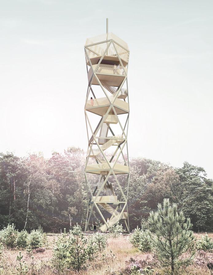 Zo gaat de nieuwe toren er uitzien