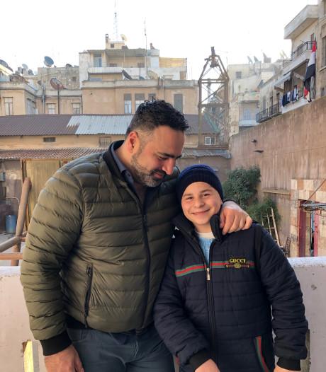Rasim uit Aleppo heeft niets en kan weinig. Maar hij gaf Sinans regisseur zijn middageten