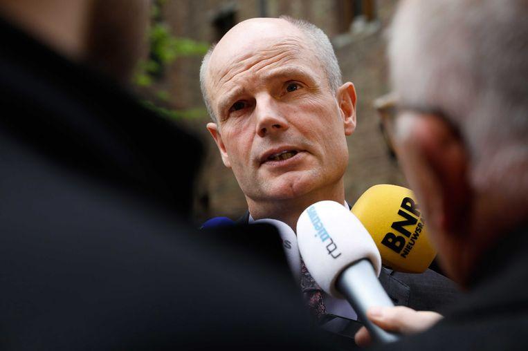 Demissionair minister van Veiligheid en Justitie Stef Blok. Beeld anp
