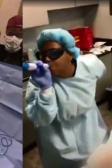 Amerikaanse dermatoloog aangeklaagd voor rappen en dansen tijdens operaties