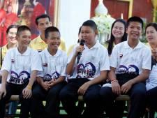 Thaise grotjongens willen na redding nu duiker bij marine worden