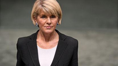 Australische minister van Buitenlandse Zaken Bishop treedt af
