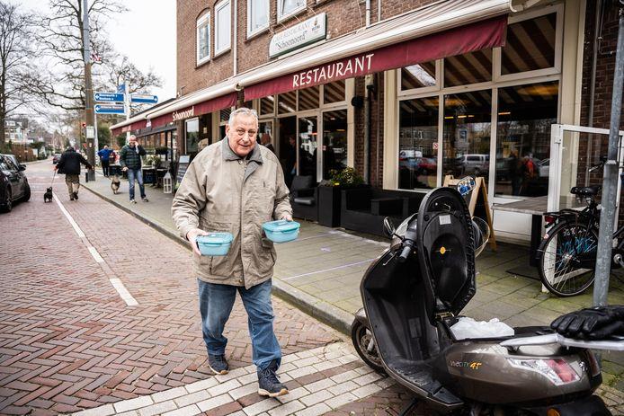 Restaurant Schoonoord in Oosterbeek, in het coronatijdperk al eerder in het nieuws omdat het gratis soep uitdeelde, wil na 1 juni ook open met extra terrasruimte.
