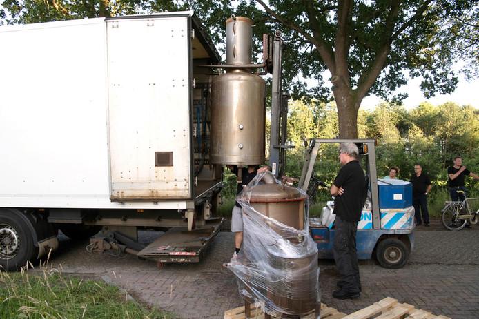 De ontmanteling van de productielocatie is door specialisten uitgevoerd. (Archieffoto)