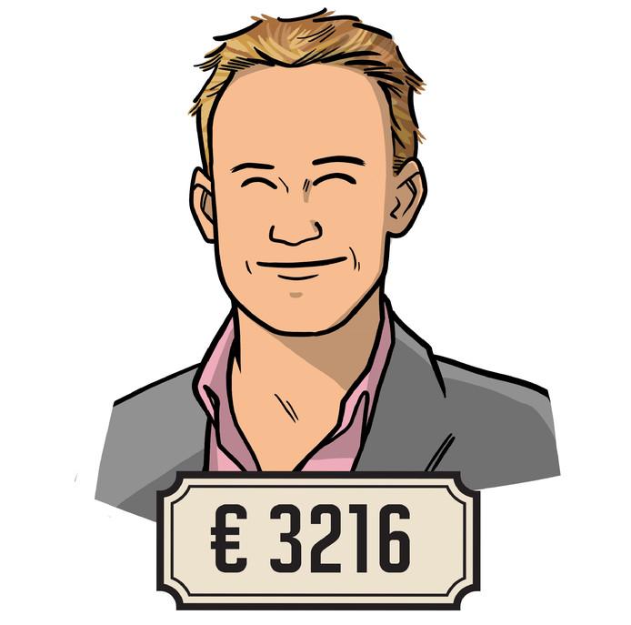 """Stefan Bergman (27): ,,Ik krijg onregelmatigheidstoeslag. Als het een intense maand is met veel oproepen, kan het zo 300 tot 400 euro netto opleveren."""""""