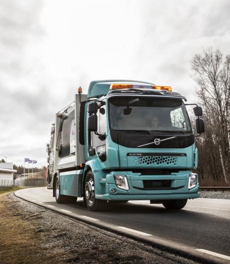 Hoe kunnen trucks volledig elektrisch rijden?