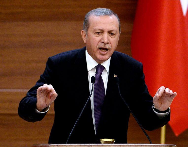 President Erdogan. Beeld afp