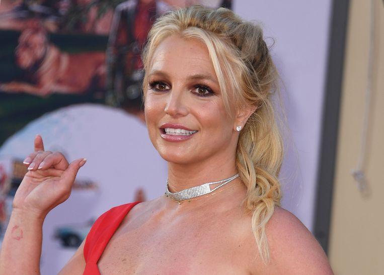 Britney Spears toont haar 'echte zelf' op sociale media, liet ze via Instagram weten.