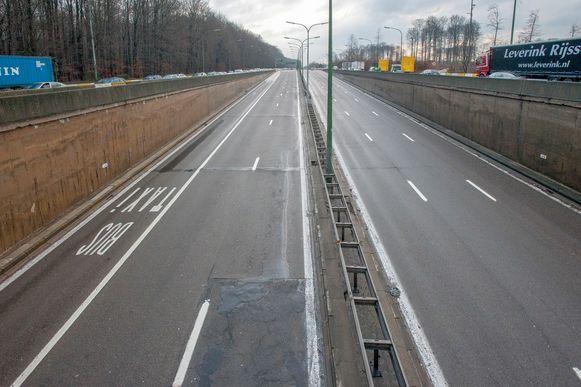 De koken van de Leonardtunnel op de Brusselse buitenring wordt komend weekend afgesloten voor werken.