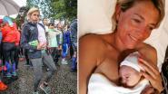 Onlangs liep ze nog met bolle buik de Ten Miles, nu deelt ex-proftriatlete Sofie Goos trots eerste kiekje van dochter