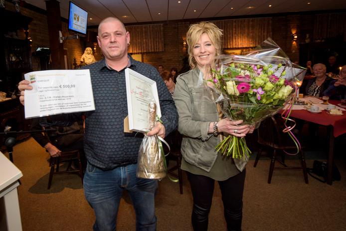 De Kopenteutenprijs werd zondag uitgereikt in De Drie Linden