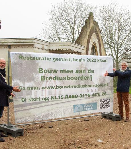 Restauratie Brediusboerderij begonnen: 'Hiermee wordt het landgoed weer compleet'