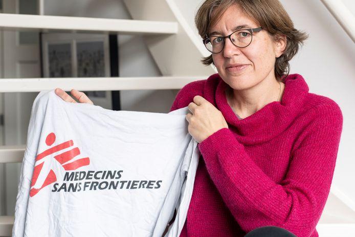 Internist-infectioloog Anna Simon werkte voor Artsen Zonder Grenzen en staat nu in de frontlinie op de corona-afdeling van het Radboudumc.
