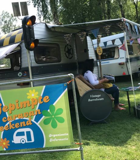 Gepimpte caravans schudden truttig imago van zich af in Schaijk