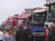 Ronkende motoren en honderd trucks: feest voor de vrachtwagenfanaat