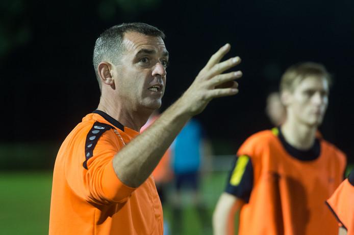 Moerse Boys-trainer Jurgen Arnouts. Foto René Schotanus/Pix4Profs