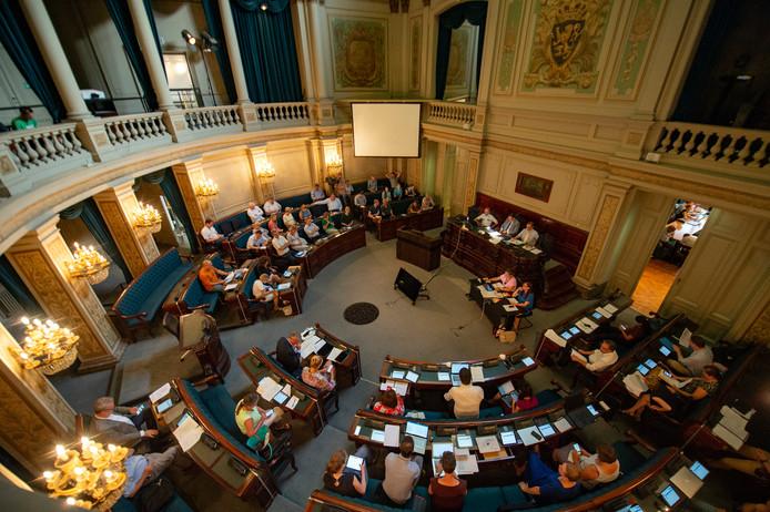 De gemeenteraad in Antwerpen