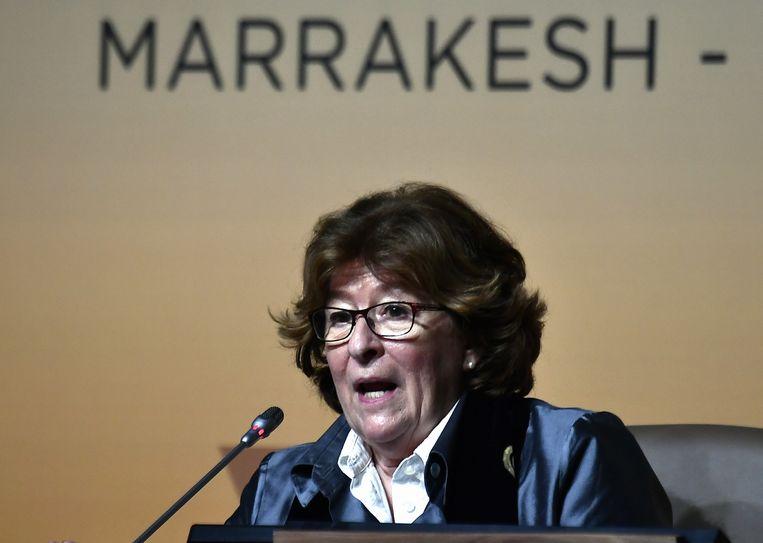 Louise Arbour, de bijzonder VN-vertegenwoordiger voor internationale migratie.