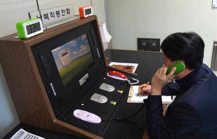 Het communicatiekanaal in Panmunjom is opnieuw opengesteld.
