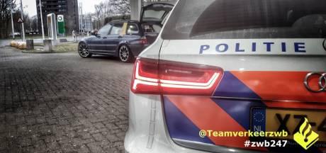 Bestuurder voor achtste (!) keer gepakt zonder rijbewijs in omgeving Tilburg