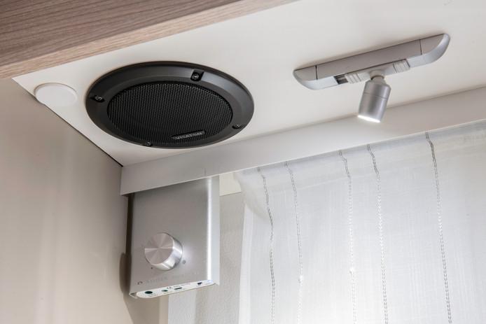 Bluetooth audio-installatie bij Adria