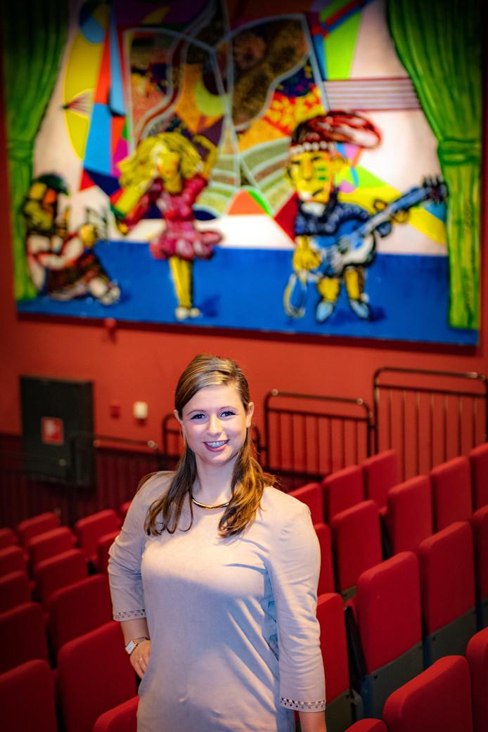 Natalie van der Aa, theaterprogrammeur.