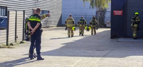 Brandweer uitgerukt voor gaslucht in Zwijndrecht