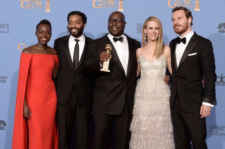 De cast van 12 Years a Slave. Beeld getty