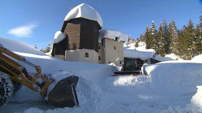 VIDEO. 30 nonnen bevrijd nadat ze 10 dagen ingesneeuwd zaten