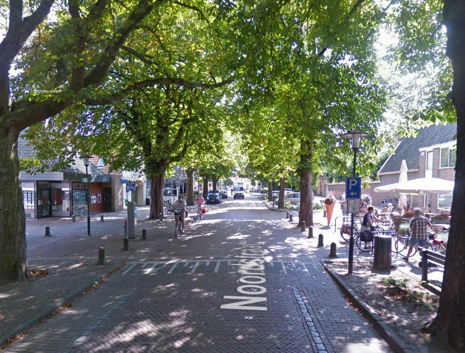Het centrum van Burgh-Haamstede.