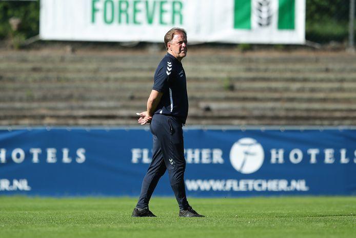 De Graafschap-trainer Mike Snoei hoopt zijn selectie bijeen te houden.