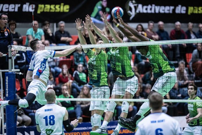 Orion verloor de halve finale van de beker van Dynamo. Foto Jan van den Brink