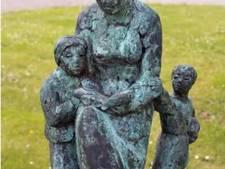 Weer diefstal bronzen beeld Jaap Hartman in Giessen
