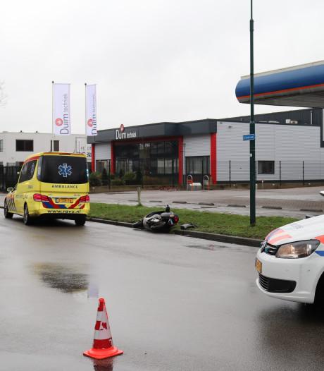 Scooter in Veenendaal aangereden door automobilist