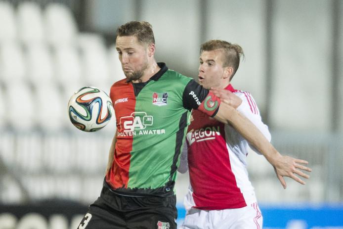 Rens van Eijden (links).