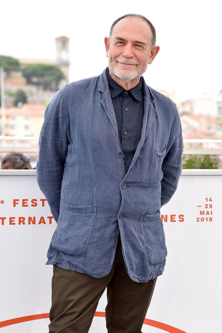 Lorenzo Mattotti op het filmfestival van Cannes in mei van dit jaar.  Beeld Getty