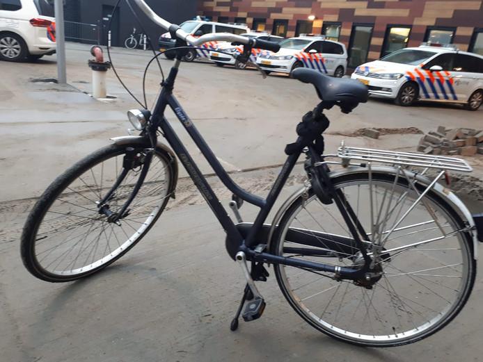De politie is op zoek naar de eigenaar van deze fiets.