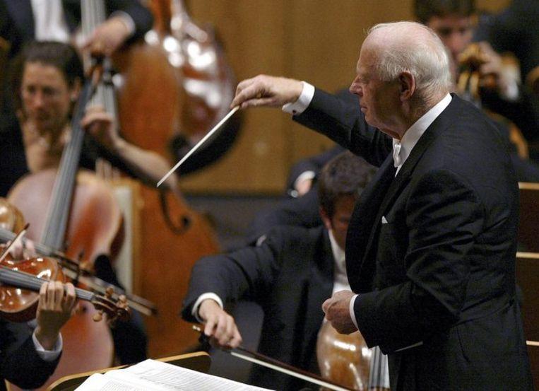 Onder leiding van Bernard Haitink was het Chicago Symphony Orchestra voor het eerst in twintig jaar weer in Amsterdam te horen. Foto ANP/Alberto Aja Beeld
