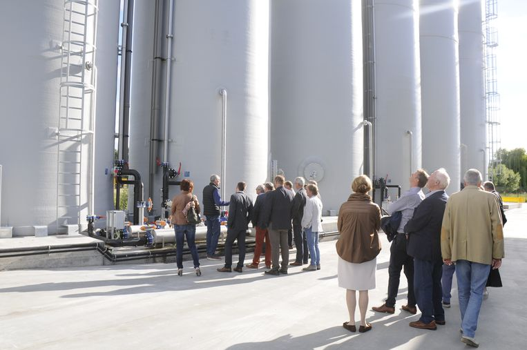 De leden van de Businessclub Regio Tienen kregen een rondleiding op de site.