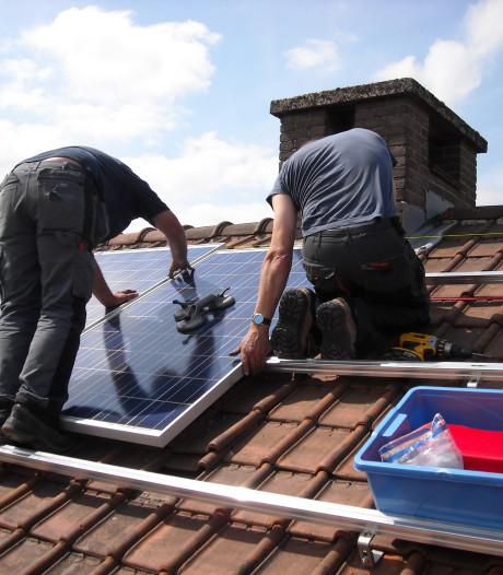 Zonnepanelen op gemeentelijke gebouwen in Eersel