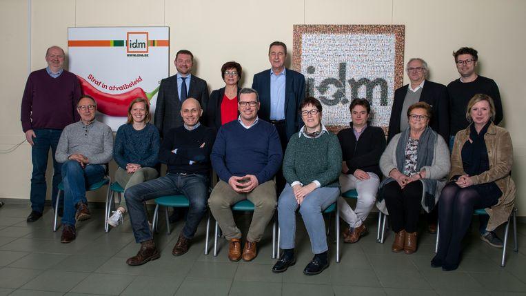 De nieuwe raad van bestuur van IDM.