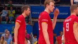 Red Dragons nemen geen revanche op Slovenië en doen slechte zaak op WK volleybal