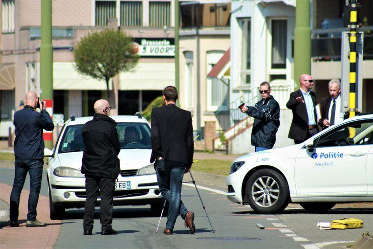 In de zaak werd ook een reconstructie gehouden in mei 2017. Een politieman van PZ Westkust diende na te bootsen hoe hij schoot op het voertuig, waarbij de Fransman werd geraakt in de romp.